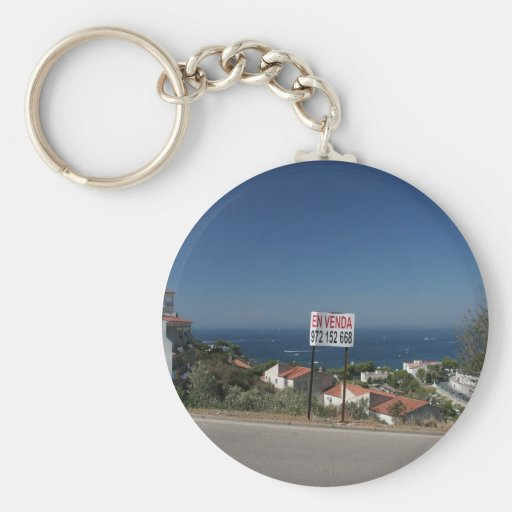 Is the Sea for Sale? Keychain