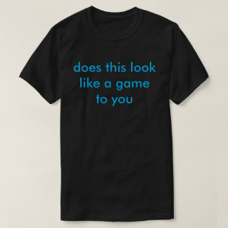 is this a game shirt
