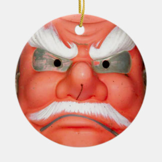 Is this the face of Santa? Christmas Ornaments