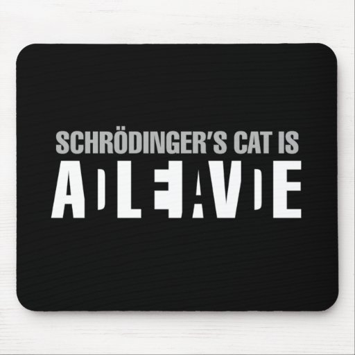 Is your mouse dead or alive? mouse pads
