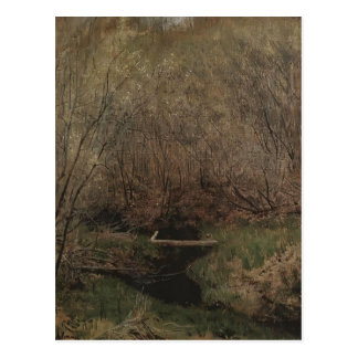 Isaac Levitan- Spring in the Forest Postcards
