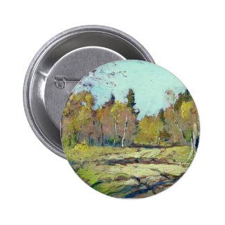 Isaac Levitan- Sunny autumn day Pins