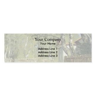 Isaac Levitan- Sunny day Business Card