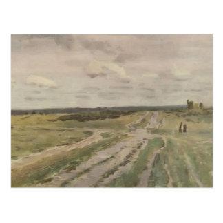 Isaac Levitan- The Vladimir s road Postcard