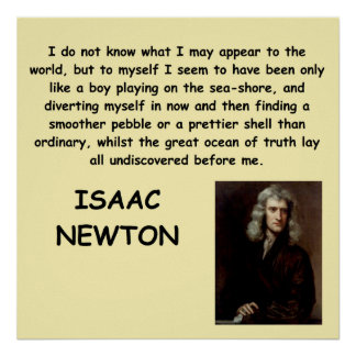 isaac newton posters