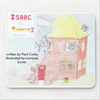 Isaac the Runner3 Mousepad