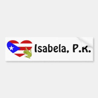 Isabela, Puerto Rico bumper sticker