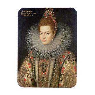 Isabella Clara Eugenia (1566-1633) Infanta of Spai Magnet