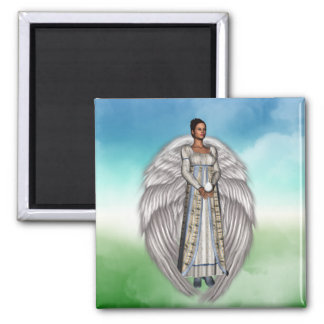 Isabella in the Clouds Fridge Magnets