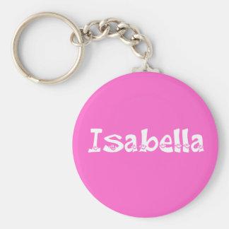 Isabella (Smiley) Keychain