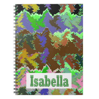 ISABELLA  - Wild Green Art from Naveen Note Book