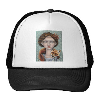 Isabelle and Ludwig Mesh Hat