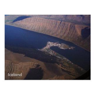 Ísafjörður, Iceland Postcard