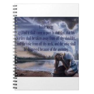 Isaiah 10:27 notebooks
