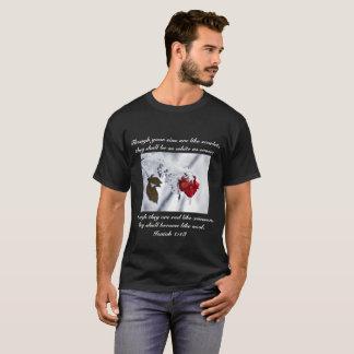 Isaiah 1:18 Bible Verse T-Shirt