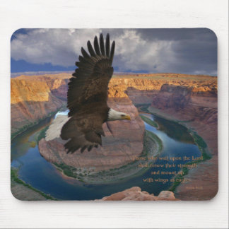 Isaiah 40:31 Wings as Eagles Mouse Pad