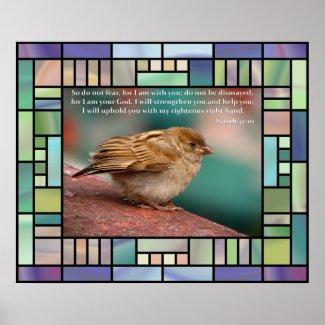 Christian Poster: Isaiah 41:10