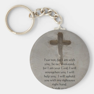 Isaiah 41:10 Inspirational Bible Verse Key Ring