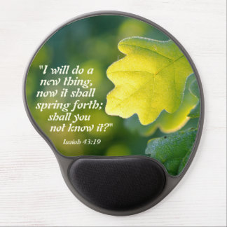 Isaiah 43 Bible Verse, I will do a new thing, Gel Mouse Pad