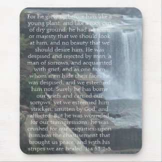 Isaiah 53 Collection Mouse Pad