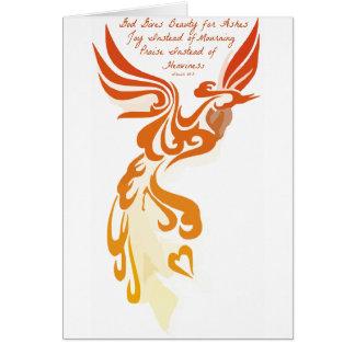 Isaiah 61 Phoenix Card