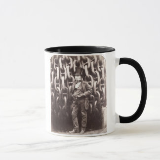 Isambard Kingdom Brunel, standing in front of the Mug