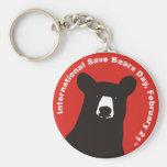 ISBD BLACK BEAR KEY CHAIN
