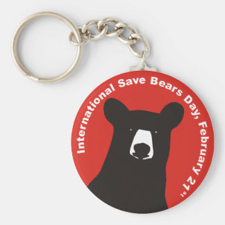 ISBD BLACK BEAR KEY RING