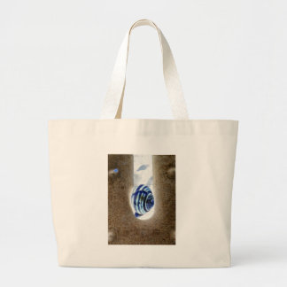 iSchnecken at the edge of way Large Tote Bag