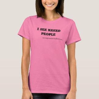 #Iseenakedpeople crew neck T-Shirt