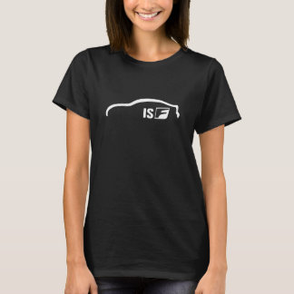 ISF white silhouette logo T-Shirt