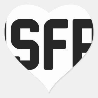 ISFP HEART STICKER