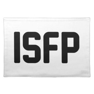ISFP PLACEMAT