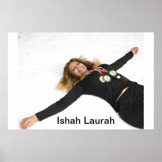 Ishah Laurah at the Olympics 2018 Poster