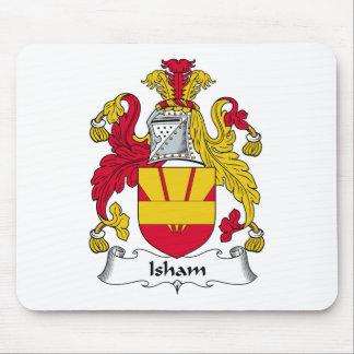 Isham Family Crest Mouse Pad