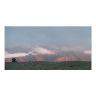 Ishawooa Wyoming Landscape Skyscape Waterscape Custom Photo Card