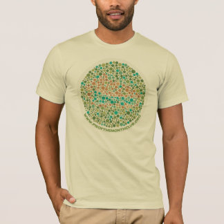 Ishihara Test for Pie Blindness T-Shirt