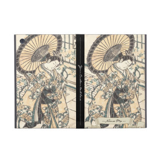 Ishikawa Toyonobu Young Lady with Parasol Cases For iPad Mini