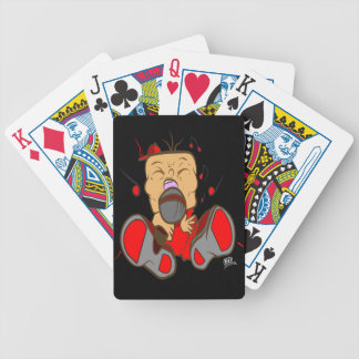 ising red edition for singers, rappers, opera bicycle playing cards