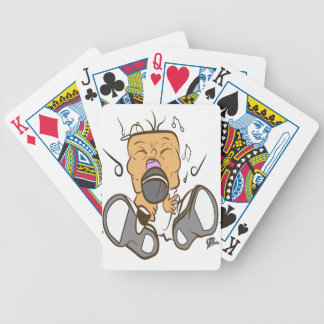 ising white bicycle playing cards