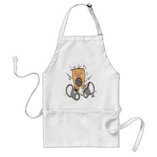 ising white standard apron