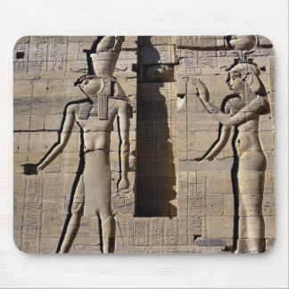 Isis and Horus Egypt Mouse Pad