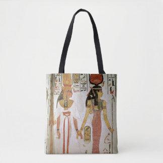 Isis and Nefertari Tote Bag
