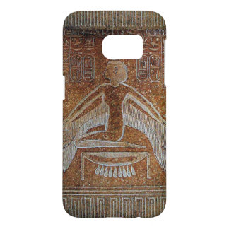 ISIS / Antique Egyptian Goddess ,Brown White