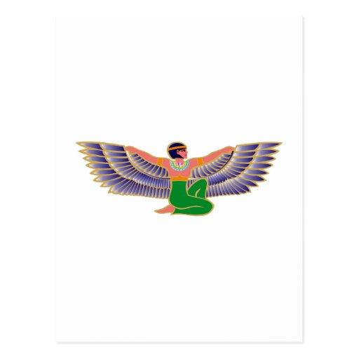 Isis Egypt goddess Egypt goddess Post Card