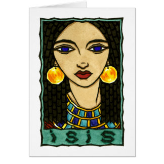 Isis Greeting Card