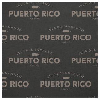 Isla del Encanto, Puerto Rico Fabric