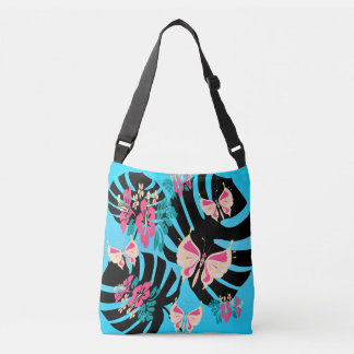 Isla Tropicana (prints piglet turquoise-coral) Crossbody Bag