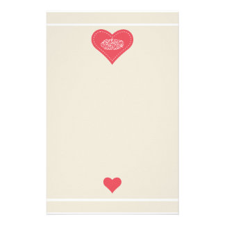 Islam Bismillah calligraphy heart love Custom Stationery