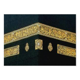 Islam Islamic Hajj Eid al Fitr Adha Mubarak Arabic 13 Cm X 18 Cm Invitation Card